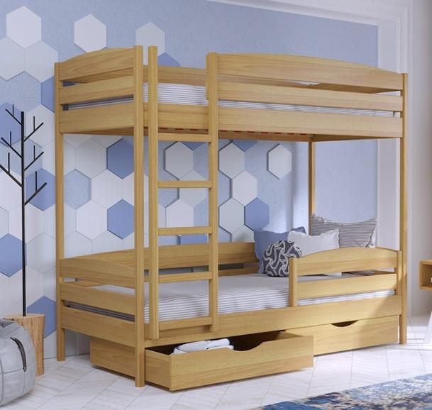 Деревянная кровать Дуэт Плюс
