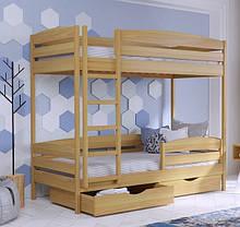 Дерев'яне ліжко Дует Плюс