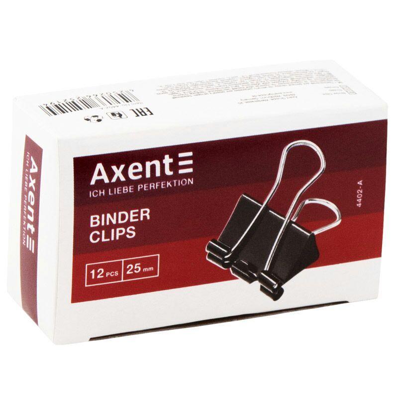 Біндери 25мм Axent (12 шт.)