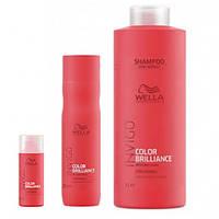 Шампунь для окрашенных нормальных и тонких волос  Wella Brilliance Invigo