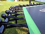 Батут для фитнесса JUMPING OLYMPIC Sport 130 см синий зеленый красный, фото 6