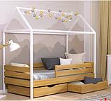 Дерев'яне ліжко будиночок Аммі, фото 4