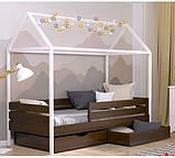 Дерев'яне ліжко будиночок Аммі, фото 5