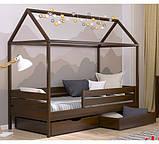 Дерев'яне ліжко будиночок Аммі, фото 3