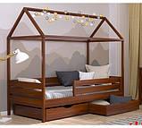 Дерев'яне ліжко будиночок Аммі, фото 2