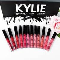 Набор жидких матовых помад Kylie Short Lip 12 в 1 реплика (3813)