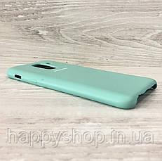 Оригинальный чехол Soft touch для Samsung Galaxy A6 Plus 2018 (SM-A605) Ocean Mint, фото 2