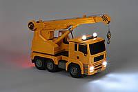 Автокран игрушка на радиоуправлении Same Toy E516-003