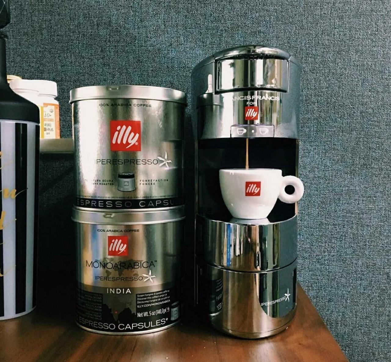 кофеварка капсульная illy цена кофемашина
