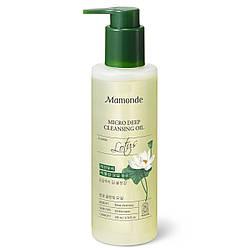 Гидрофильное масло с экстрактом лотоса Mamonde Micro Deep cleansing oil