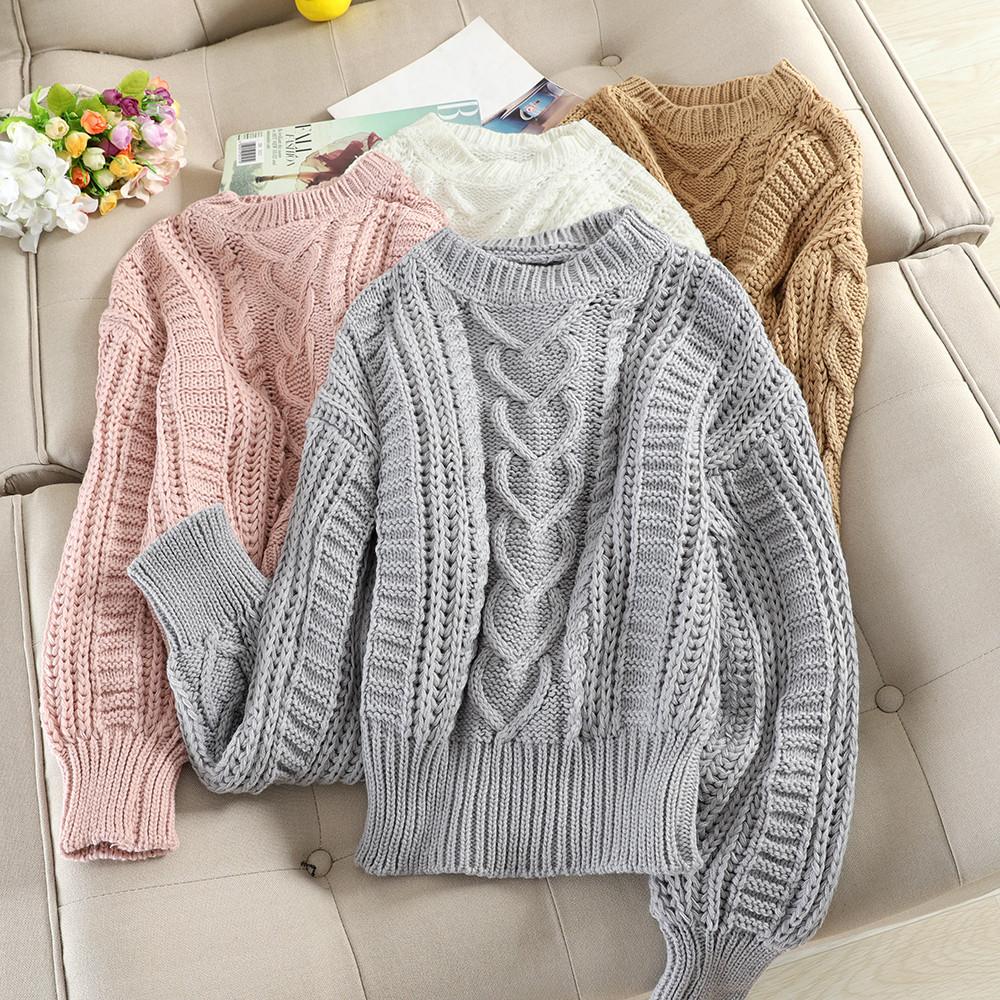 Вязаный свитер на каждый день 44-46 (в расцветках)