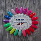 Гель-лак для ногтей AVENIR Cosmetics 10 мл. № 009 м Сиренево-розовый, фото 5