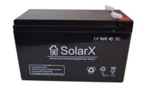 Акумулятор SolarX SXA 12-12 (12V 12Ah)