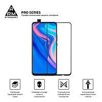 Защитное стекло для Huawei P Smart Z/Y9 Prime 2019 Black (Полный клей)