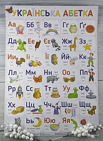 Плакат Українська абетка 120498 Зірка Украина