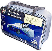Тент на легковое авто Milex PEVA + PP (подкладка, зеркало, замок) размер XL