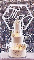 Декорация свадебного торта