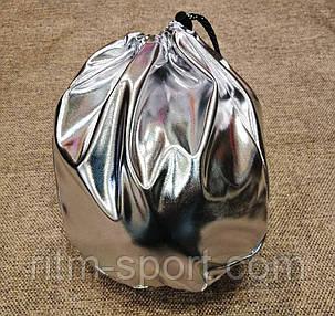 Чехол для мяча (художественная гимнастика, цвет серебряный), фото 2