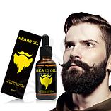 Масло для быстрого роста бороды и усов  Beard Oil, фото 3