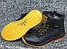 Ботинки детские зимние подростковые кожаные зимние ботинки на меху для мальчика Zangak, фото 10