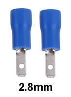"""Коннектор плоский MDD 2-110(8) с частичной изоляцией """"папа"""" (1,5-2,5 мм²/2,8-0,8 мм)"""