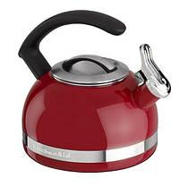 Чайник KitchenAid KTEN20CBER 2.0-Quart Kettle with C Handle and Trim Band - Empire Red