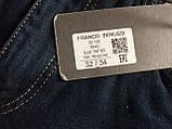Мужские джинсы утепленные Franco Benussi 20-140 TORINO темно-синие, фото 5