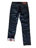 Мужские джинсы утепленные Franco Benussi 20-140 TORINO темно-синие, фото 3
