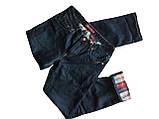 Мужские джинсы утепленные Franco Benussi 20-140 TORINO темно-синие, фото 4