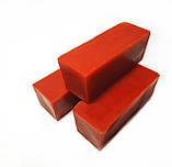 Кольоровий червоний бджолиний віск для виготовлення свічок, розпису писанок. Ціна за 100 грам., фото 2