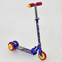 Самокат Best Scooter синий, металлический, колеса Pvc 12.5 см - 178689