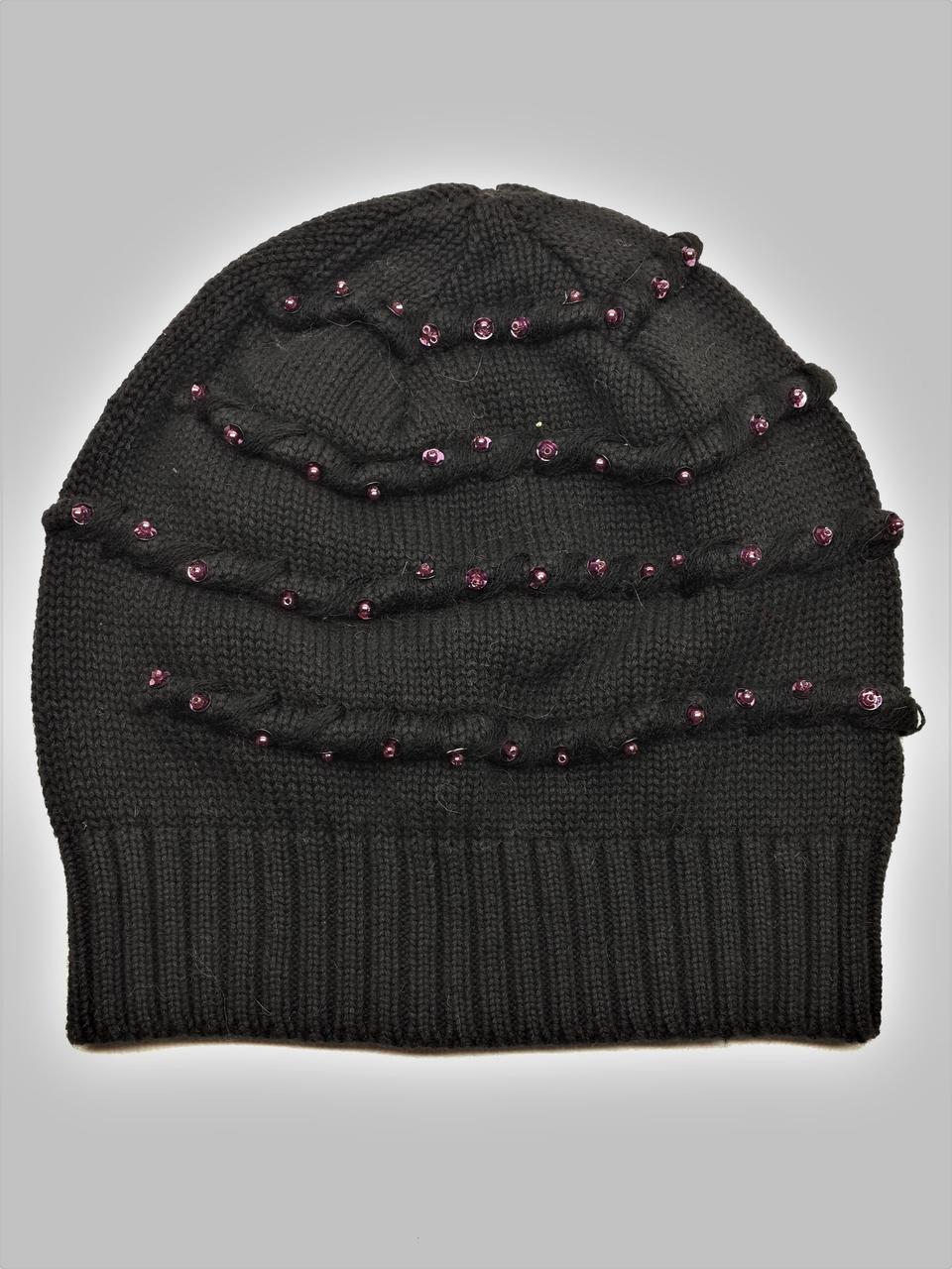 Тонкая шапка Mollin 1216 One Size черная
