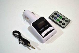 Автомобильный FM-модулятор YC-961 + аукс трансмиттер Ресивер (12531)