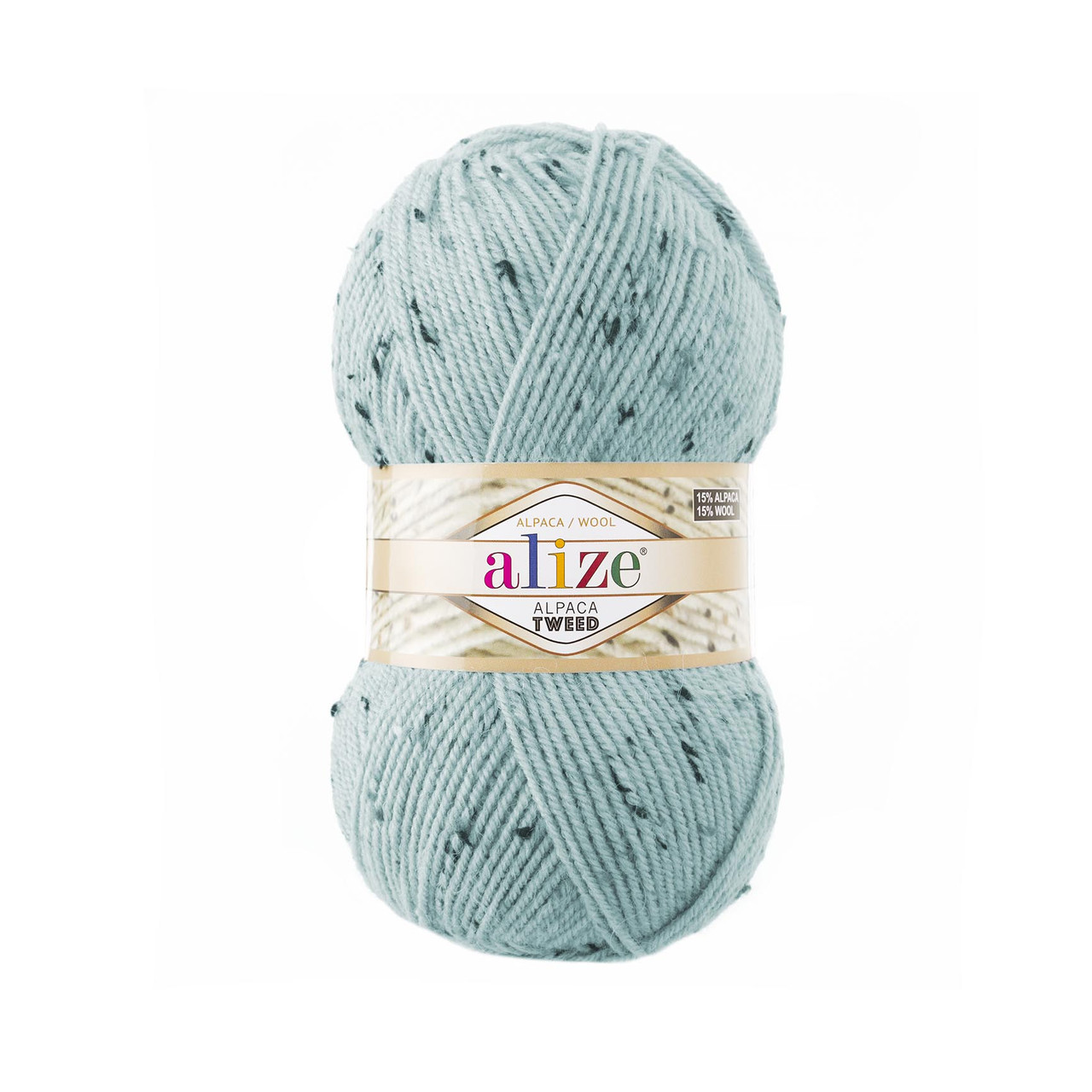 Alpaca Tweed № 522
