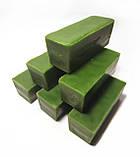 Кольоровий зелений бджолиний віск для виготовлення свічок, розпису писанок. Ціна за 100 грам., фото 2