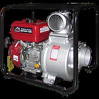 Мотопомпа бензиновая  VULKANSCWP100 для чистой воды 80 м.куб/час
