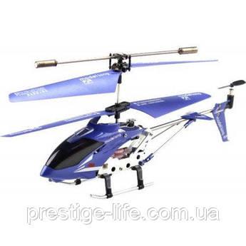 Вертолет на радиоуправлении Model King 33008 с гироскопом, светом Синий