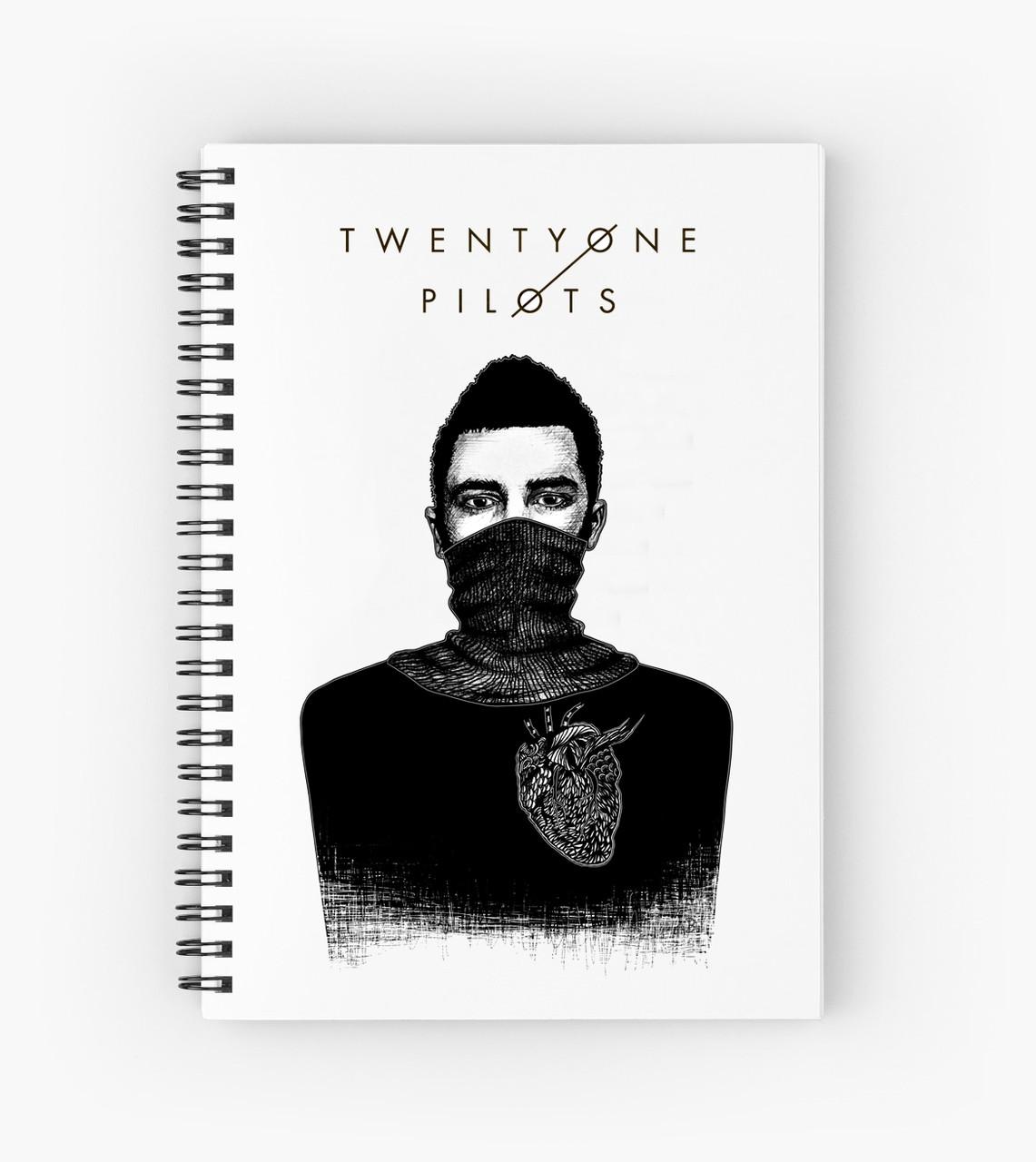 Блокнот Twenty One Pilots 3