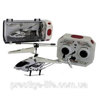 Вертолет на радиоуправлении Model King 33008 с гироскопом, светом Белый