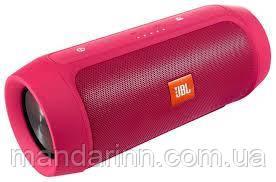 Портативная акустическая система колонка JBL Charge 2+ с поддержкой Bluetooth Розовая