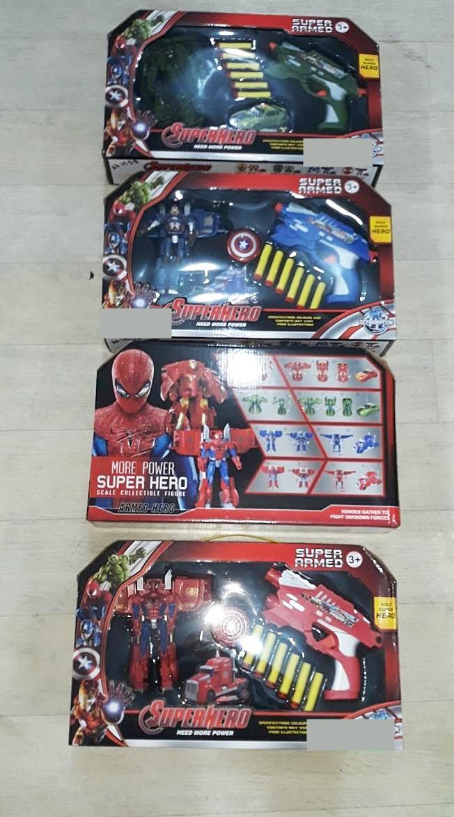 Игровой набор Super hero armeo