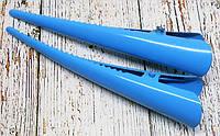 """Заколка """"Стріла"""" блакитна 7,5см."""