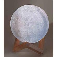 Ночник с сенсорной подсветкой в виде шара Луна