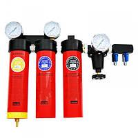 Блок подготовки воздуха профессиональный, 3 ступени, Italco AC6003