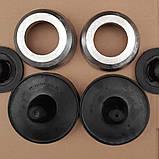 Проставки Шкода Фабія Skoda Fabia для збільшення кліренсу комплект зад і перед висота 20-30мм, фото 2