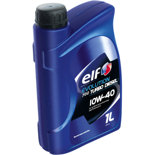 Моторное масло Elf Evolution 700 Turbo Diesel 10W40 (1л)