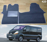 Коврики на Renault Trafic II '01-14. Текстильные автоковрики