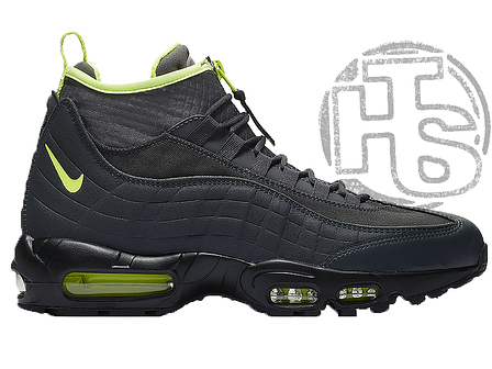 Мужские кроссовки Nike Air Max 95 Sneakerboot Anthracite Volt 806809-003, фото 2
