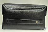 Стильна чоловіча шкіряна барсетка,невеликий клатч гаманець гаманець портмоне, фото 3