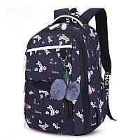 Рюкзак школьный Laamei черный